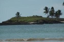 Paysage des îles de la lune (Comores)