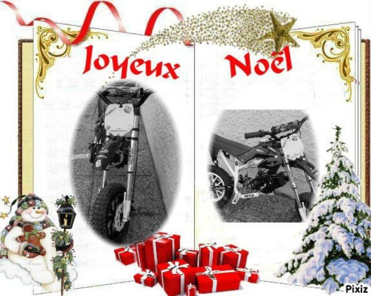 joyeux noel a tout les gens qui me suive , bonne vacance !!!