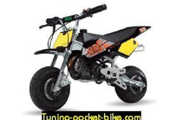 pocket supermotard Blata !