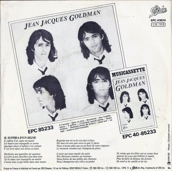 1981 - Il suffira (d'un signe) 01