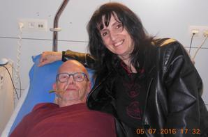 Visite de mon frangin a l'hôpital