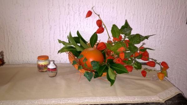 Décors d'automne (sans prétention) !
