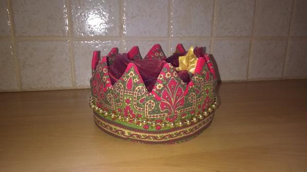 """Pochon """"couronne de roi"""""""