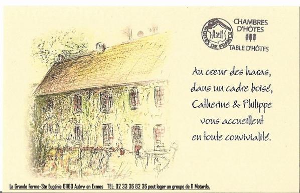 Chambre d'hôte à Sainte Eugénie