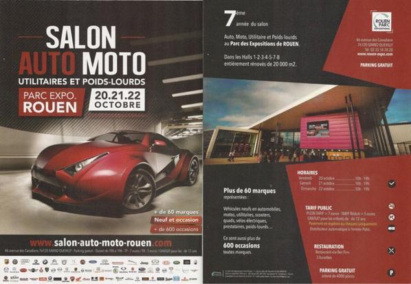 20,21 et 22 Octobre Parc expo Rouen