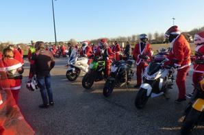 Père Noël à motos Elbeuf