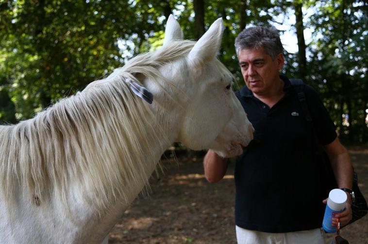 Blanco avec papa ^^