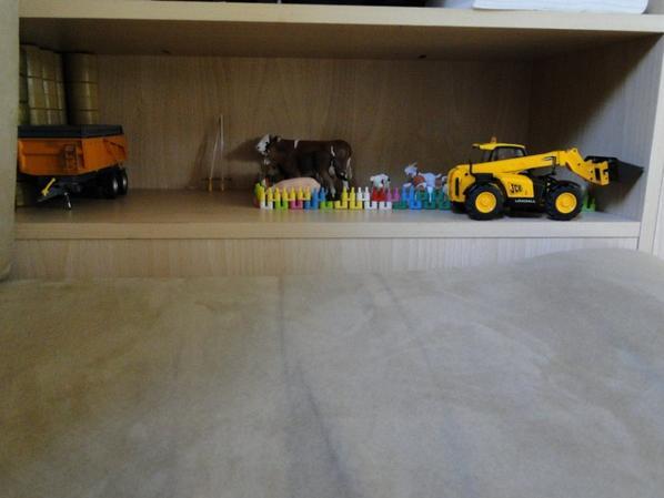 Quelques miniatures en vacances