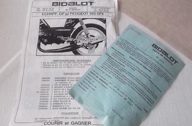 #### POT BIDALOT GP PEUGEOT 103 ####