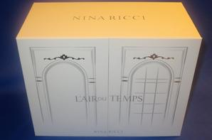 ✿ Ricci Nina - L'AIR DU TEMPS - coffret ✿