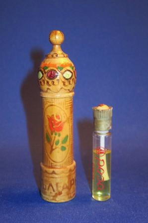 ✿ Bulgarie - Flacons à parfum en bois ✿