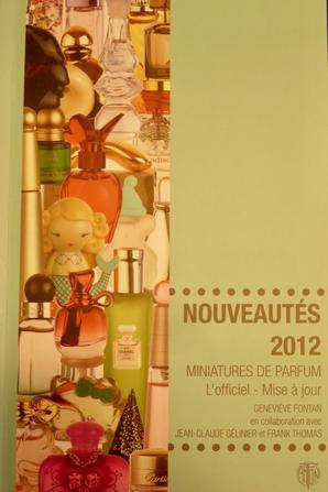 Collection olfactive en livres