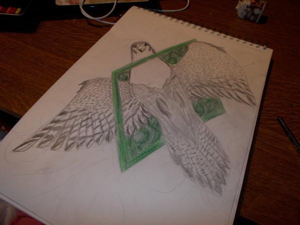 falcon tattoo!!!