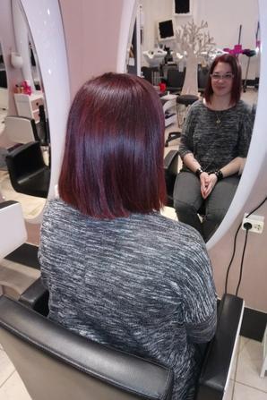 Nouvelle coupe de cheveux, nouvelle couleur...
