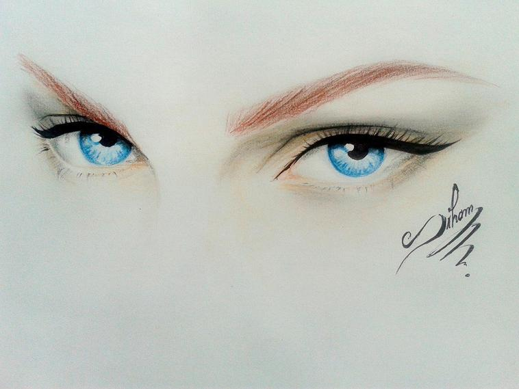 by Siham bouyerbou ( eyes )