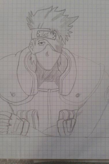 2ndes reproductions de dessins Naruto