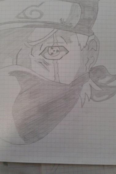 3 ème reproduction de dessins Naruto
