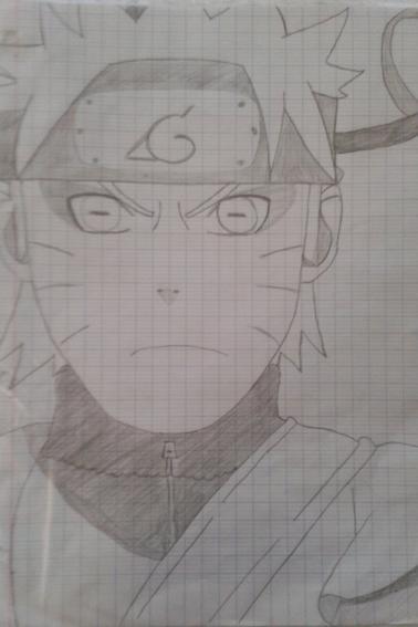 4eme reproduction de dessins Naruto