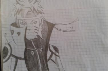 5 ème reproduction de dessins Naruto