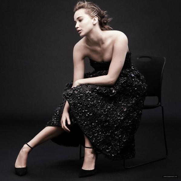 Outtakes de Jennifer Lawrence pour Madame Figaro