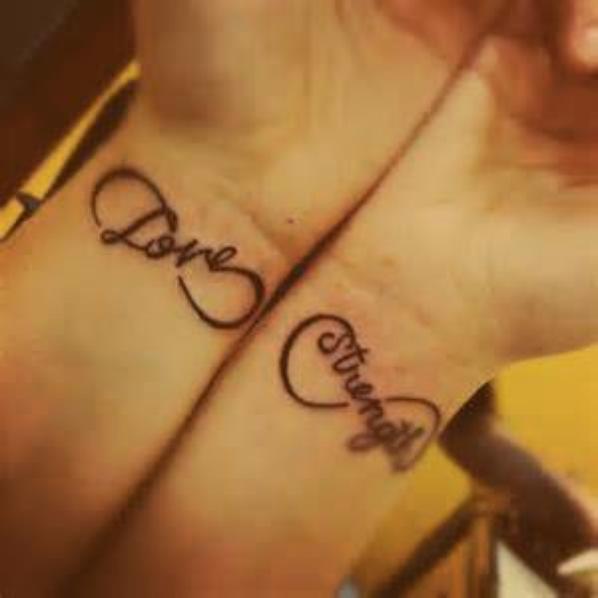 Infinity Tatoo's :) yeah