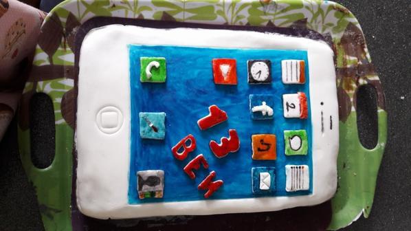 Gâteau I phone