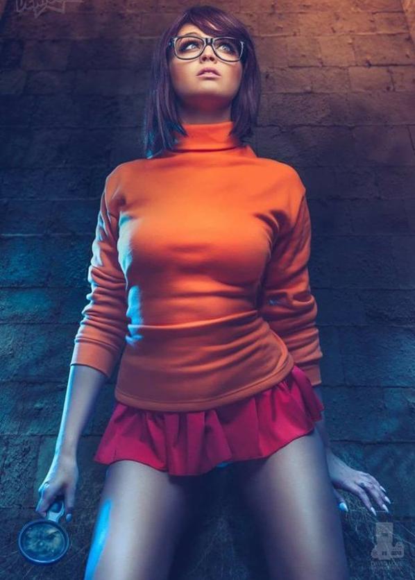 Cosplay de Vera (Scooby-Doo)