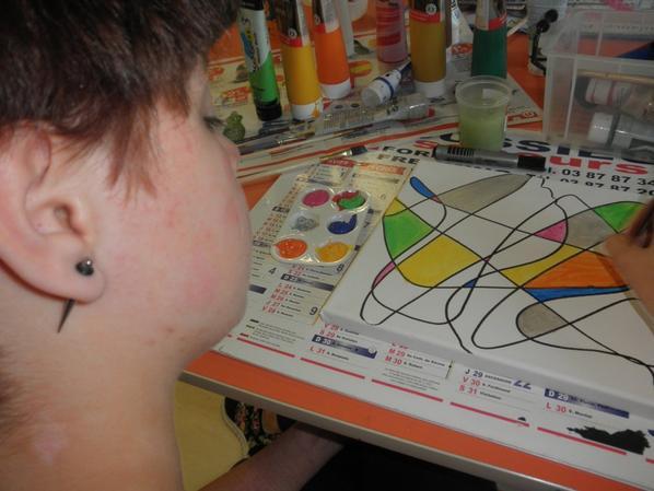 Art thérapie et maladie chronique