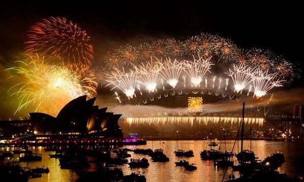 2013 Sydney new years