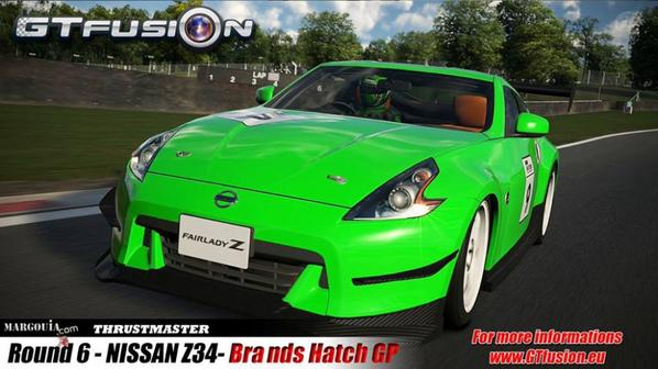 GTfusion Gran Turismo Championship online round 6