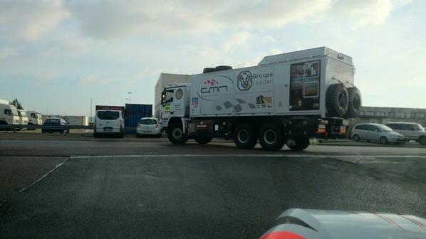 Camion d'assistance pour Dakar 2014