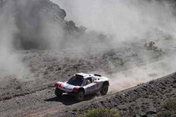 Dakar équipage Commagnac/Lavergne