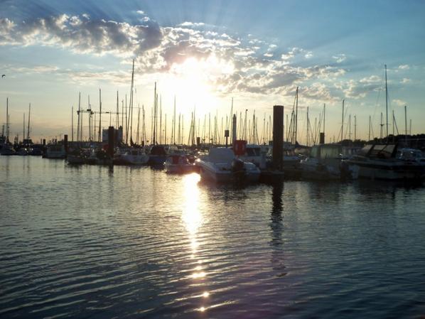 Sortie bateau en soirée le 1er aout 2013