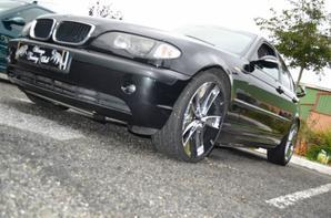 voici la voiture d'un nouveau membre : bmw