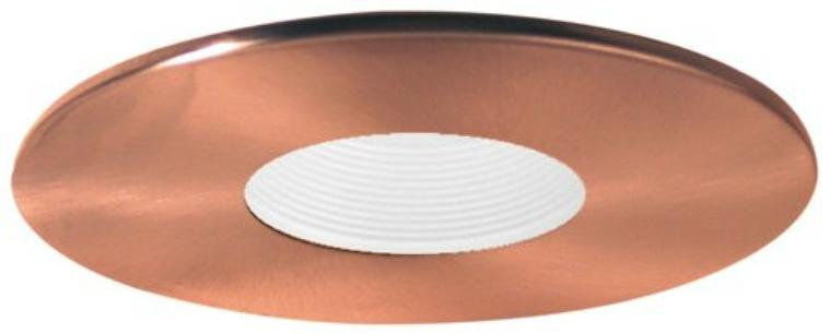 Elco EL1423 Low Voltage Trim (pinhole with baffle, adjustable, shallow)