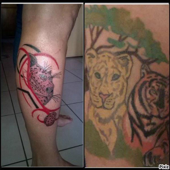 mes 9 tatoo  7 on etait fait par cedric bientot un 10e