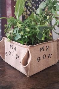 """La box """"cache pot"""""""