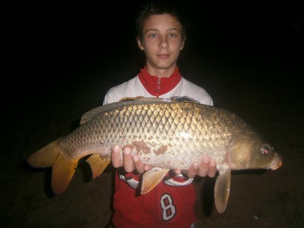 pêche a la carpe  de la petite