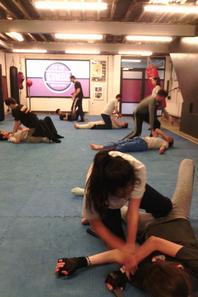 Jeudi 20 avril 2017 de 18h30 à 20h00 - cours de krav-maga à l'American Gym