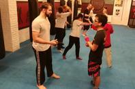 Mardi 9 octobre 2018 cours de krav-maga adultes à l'American gym d'Ixelles de 18h30 à 20h00