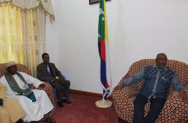 Le président Azali reçoit les coordinateurs et certains militants de la CRC Anjouan