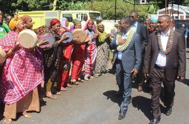 Le Gouverneur Dr SALAMI de retour à Anjouan avec des conventions en poche