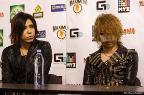 Conférence de presse au Festival KUBANA en Russie 2O13 [The GazettE]