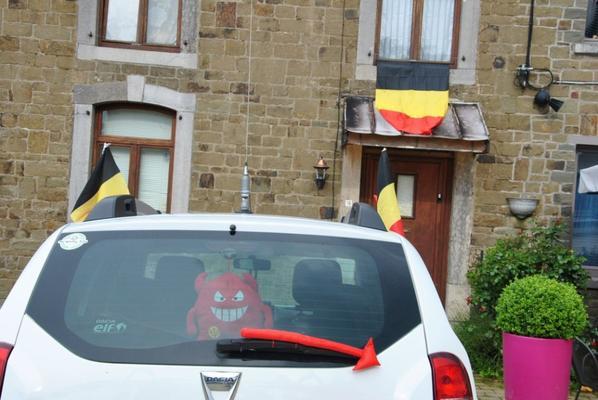 nous sommes triste que la belgique aye perdu....