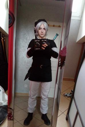 Suite création cosplay Dark Link