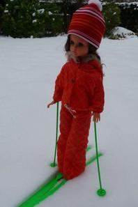 Les filles sont parti faire du ski en duo
