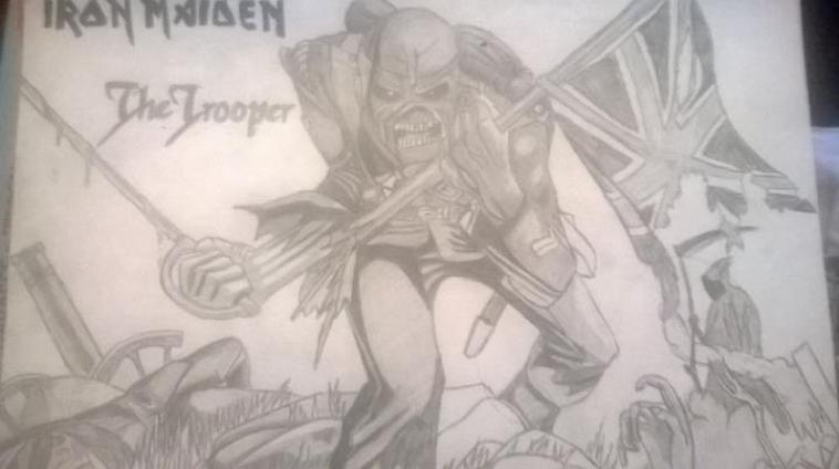 The Trooper d'Iron Maiden !!