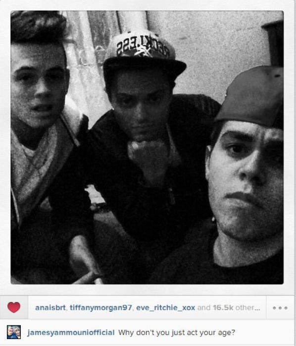 14/08/2013 - 5 nouvelles photos de James, Skip & Ronnie