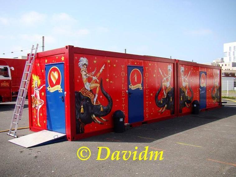 les toilettes bouglione ont été repeints (photo : Davidm )