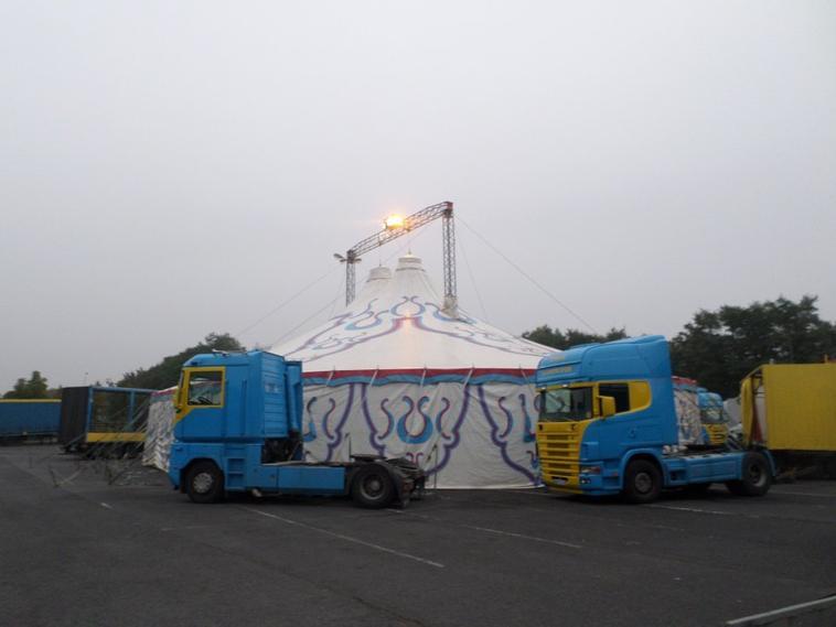 cirque La Piste d'Or (Falck) / Lomme 2016